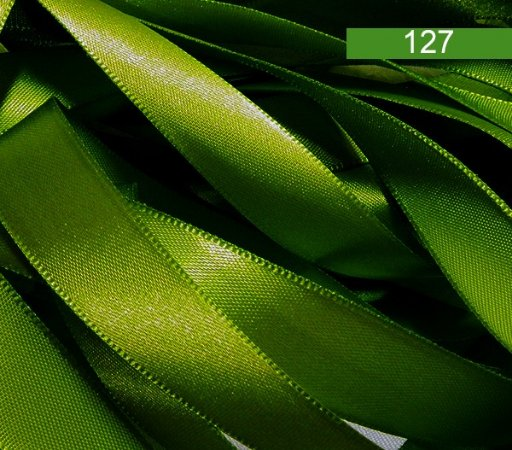 Fita De Cetim - Verde  Esmeralda