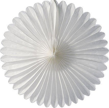 Flor Leque 40cm Branco