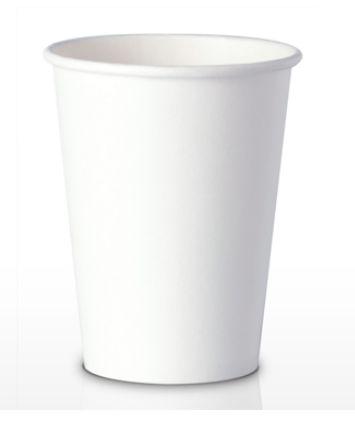 Copo De Papel 210ml - Branco (Pacote c/ 50 uni) PROMOÇÃO