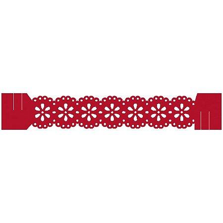 Porta Guardanapo - Blossom Vermelho