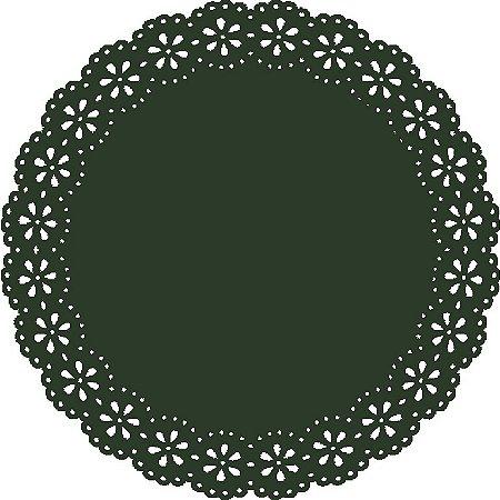 Sousplat - Blossom Verde (6 unidades)