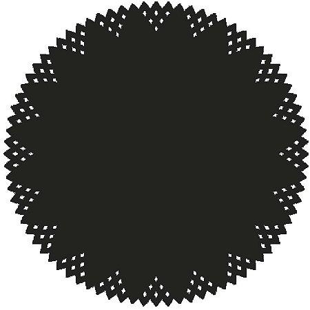 Sousplat - Pine Preto (6 unidades)
