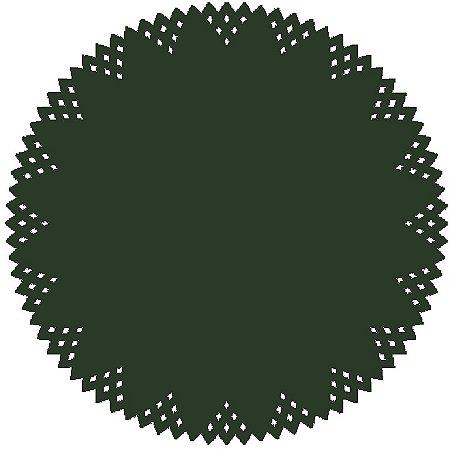 Sousplat - Pine Verde