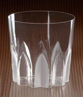Copo 300ml - Whisky Acrílico Descartável - Caixa 1200 unidades