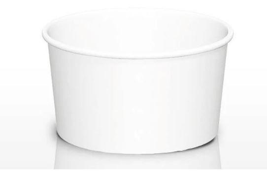 Pote Papel 360ml - Branco (CAIXA 1.000 uni)