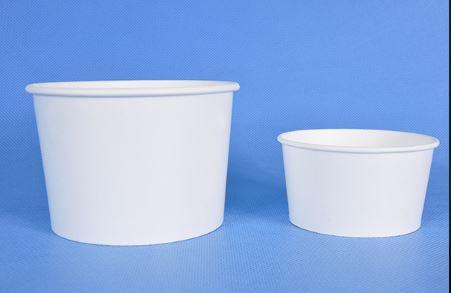 Pote Papel 480ml - Branco (CAIXA 1.000 uni)