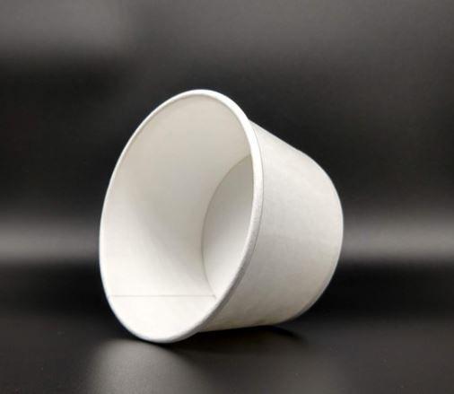 Pote Papel 100ml - Branco (CAIXA 1.000 uni)