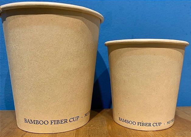 Copo de Fibra de Bambu 100% Bio (Caixa 1000 unidades) Varios tamanhos