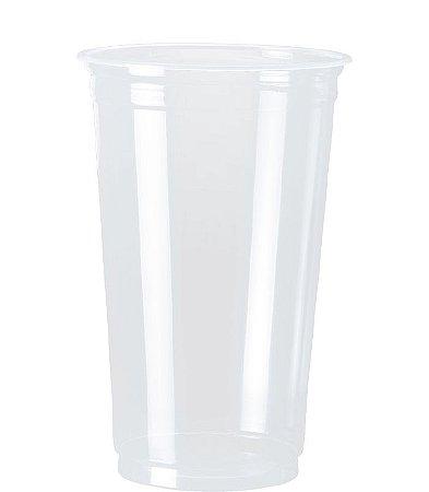 Copo Plastico- 770ml - Transparente (30 unidades)