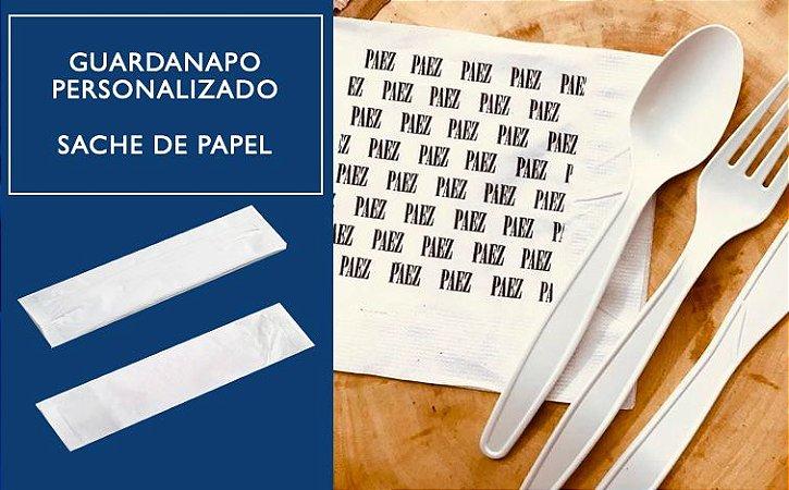 Guardanapos Personalizados SACHE PAPEL-24x24cm F. Simples (Caixa C/ 10 mil unidades)