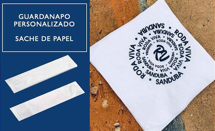 Guardanapos Personalizados -SACHE PAPEL 33x33 cm - F. Dupla (Caixa C/ 3 mil unidades)