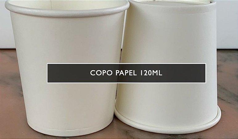 Copo de papel 120ml - parede simples NCPP- PROMOÇÃO