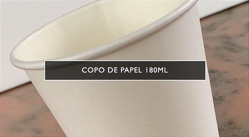 Copo de papel NCPP  -180ml - PROMOÇÃO