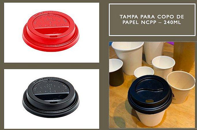 Tampa Bico P/ Copo De Papel 240ml-PARA MODELOS NCPP