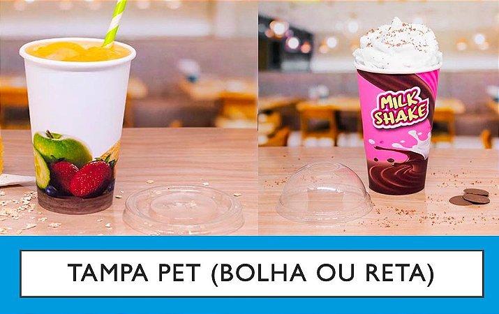 Tampa PET P/ COPO POLIPAPEL -Vários modelos