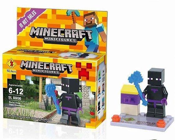 Minifigures Minecraft - Blocos De Montar - Enderman