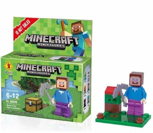Minifigures Minecraft - Blocos De Montar - Steve