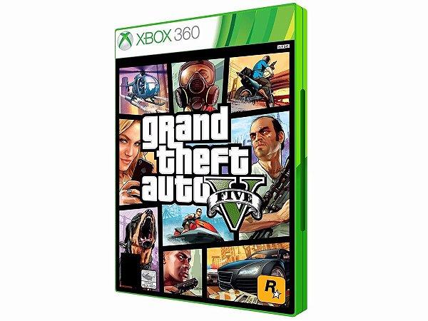 Gta 5 V Xbox360 Mídia Física Novo Original E Lacrado