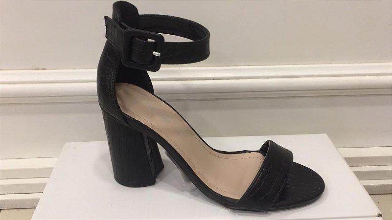 Sandalia Salto Grosso - Gisele