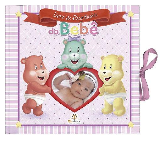 Livro de Recordações do Bebê Rosa: É uma Menina