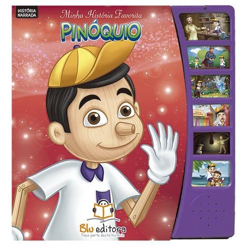 Livro Minha História Favorita: Pinóquio