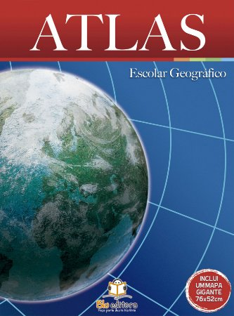 Livro Atlas Escolar Geográfico