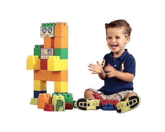 Brinquedo Super Blocos Gigantes