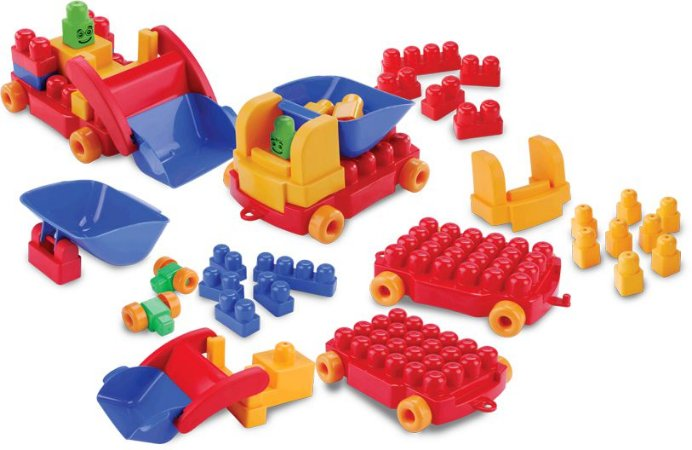 Brinquedo de Montar Kit Construção
