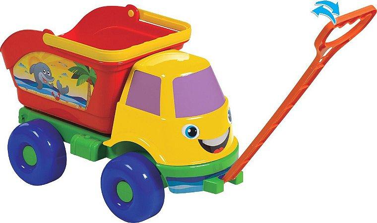 Brinquedo Caminhão Caçamba de Praia