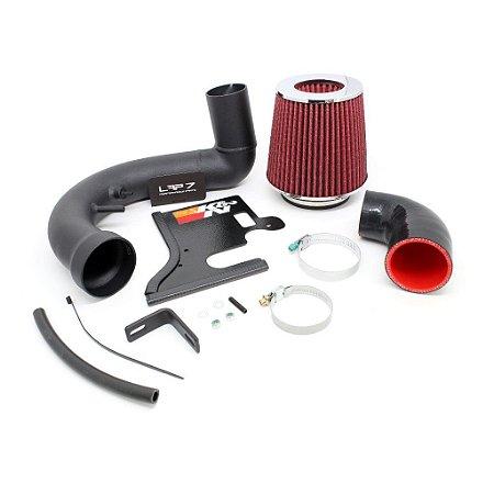 Cold air Intake Stágio 2 VW UP 1.0 TSI com filtro esportivo cônico K&N