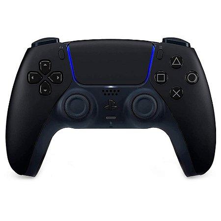Controle sem Fio Dualsense Midnight Black (Pré Venda) - PS5