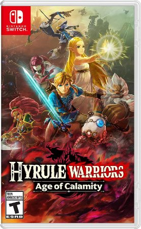 Hyrule Warriors: Age of Calamity (Seminovo) - Nintendo Switch