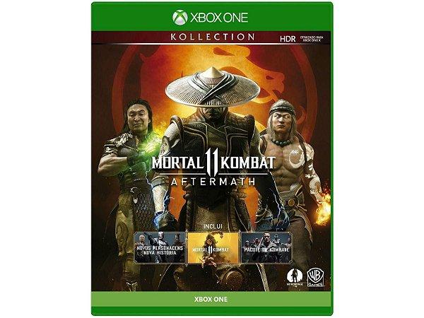 Mortal Kombat 11: Aftermath (Seminovo) - Xbox One
