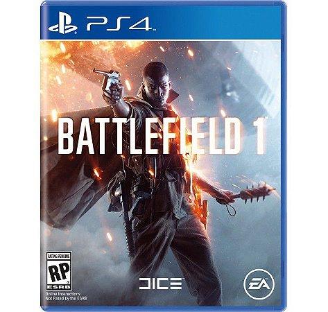 Jogo Battlefield 1 BF1 - PS4 - SEMINOVO