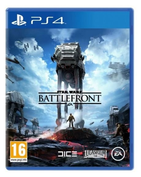 Jogo Star Wars Battlefront - PS4 - SEMINOVO