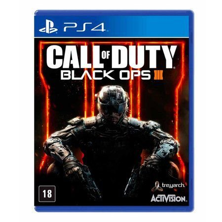 Jogo Call of Duty: Black Ops III - COD BO3 - PS4