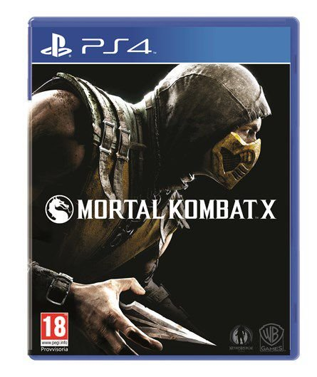 Jogo Mortal Kombat X - PS4 - SEMINOVO