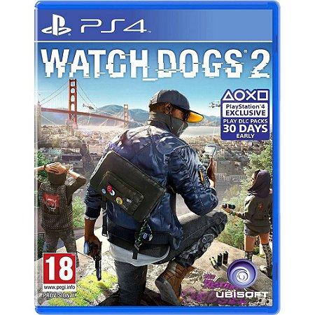 Watch Dogs 2 (Seminovo) - PS4