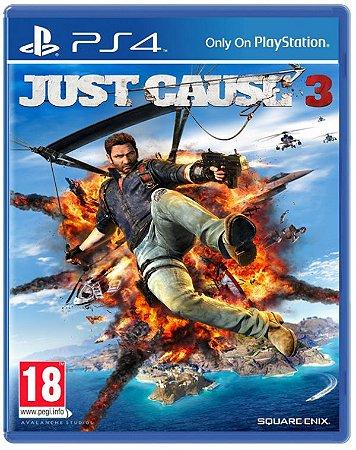 Jogo Just Cause 3 - PS4 - SEMINOVO