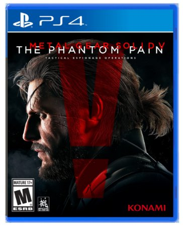 Jogo Metal Gear Solid V: The Phantom Pain (Seminovo) - PS4