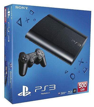 Console PlayStation 3 Super Slim (+ Jogo de Brinde) - Seminovo - Sony