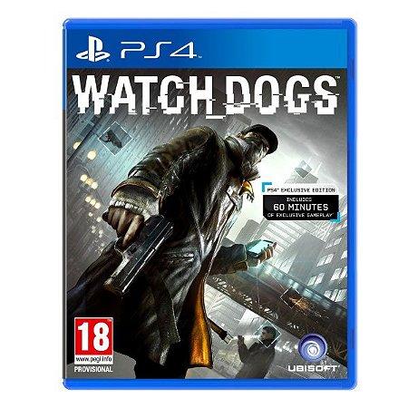 Jogo Watch Dogs - PS4 - SEMINOVO