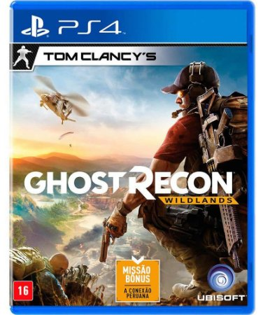 Jogo Tom Clancys Ghost Recon Wildlands - PS4