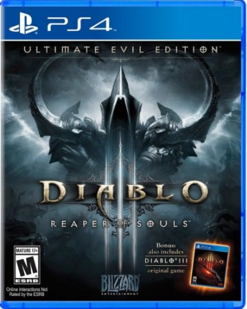 Jogo Diablo 3 Reaper Of Souls: Ultimate Evil Edition - Ps4