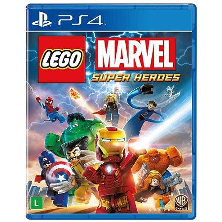Jogo Lego Marvel Super Heroes (seminovo) - PS4