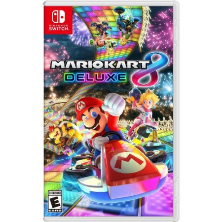 Jogo Mario Kart 8 Deluxe (Seminovo) - Nintendo Switch