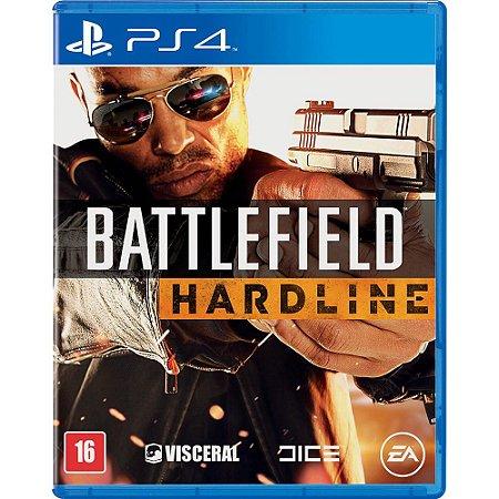 Jogo BF Battlefield Hardline (Seminovo) - PS4