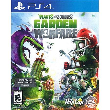 Jogo Plants Vs Zombies: Garden Warfare - PS4