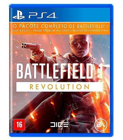 Jogo Bf1 Battlefield 1: Revolution - PS4