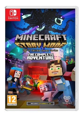 Jogo Minecraft Story Mode The Complete Adventure - Nintendo Switch